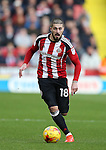 Kieron Freeman of Sheffield Utd during the English League One match at the Bramall Lane Stadium, Sheffield. Picture date: November 19th, 2016. Pic Simon Bellis/Sportimage