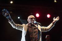 Giuliano Palma live in concert whit you tour Old Boy August 17, 2015. Photo: Adamo Di Loreto/BuenaVista*photo