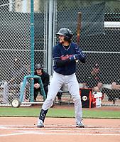 Daniel Schneemann - Cleveland Indians 2020 spring training (Bill Mitchell)