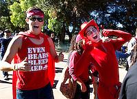 Stanford fans before Saturday, November 23, 2013, Big Game at Stanford University.