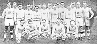 August-September 1920, Olympic Stadium, Antwerp, Belgium;  1920 Summer Olympic Games;  The US Rugby Team Olympic Games 1920 ; A total of 29 nations participated in the Antwerp Games, only one more than in 1912, as Germany, Austria, Hungary, Bulgaria and Ottoman Empire were not invited, having lost World War I.