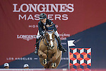 Jane Richard Philips of Switzerland riding Zekina Z competes during the Hong Kong Tatler Trophy, part of the Longines Masters of Hong Kong on 12 February 2017 at the Asia World Expo in Hong Kong, China. Photo by Juan Manuel Serrano / Power Sport Images