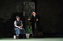 "Leeds, UK. 31.01.2019. Opera North presents Leoš Janáček's ""Katya Kabanova"", at Leeds Grand Theatre, conducted by Sian Edwards, directed by Tim Albery with lighting design by Peter Mumford and set and costume design by Hildegard Bechtler. Cast is: Stephanie Corley (Katya Kabanova), Harold Meers (Boris), Andrew Kennedy (Tichon), Heather Shipp (Kabanicha), Katie Bray (Varvara), Alexander Sprague (Kudryash), Stephen Richardson (Dikoy), Nicholas Butterfield (Kuligin), Laura Kelly-McInroy (Glasha), Rachel Mosley (Feklusha). Photograph © Jane Hobson."