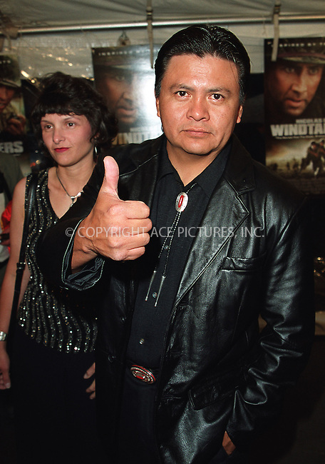 "Roger Willie arrives at the New York premiere of ""Windtalkers."" New York, June 6, 2002. Please byline: Alecsey Boldeskul/NY Photo Press.   ..*PAY-PER-USE*      ....NY Photo Press:  ..phone (646) 267-6913;   ..e-mail: info@nyphotopress.com"