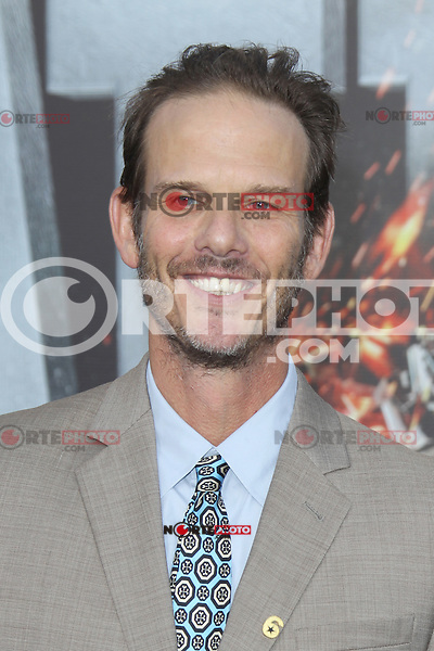 Peter Berg at the film premiere of 'Battleship,' at the NOKIA Theatre at L.A. LIVE in Los Angeles, California. May, 10, 2012. ©mpi20/MediaPunch Inc.