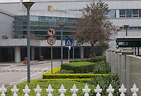 A Microsoft facility that used to be a Nokia handset factory, until Nokia was bought out by Microsoft, is seen in Dongguan, Guangdong Province, China, 03 March 2015. At its peak in 2011, the factory used to employ 10,000 workers, but now there are only 15 staff on the payroll. The factory will close for good at the end of March 2015.