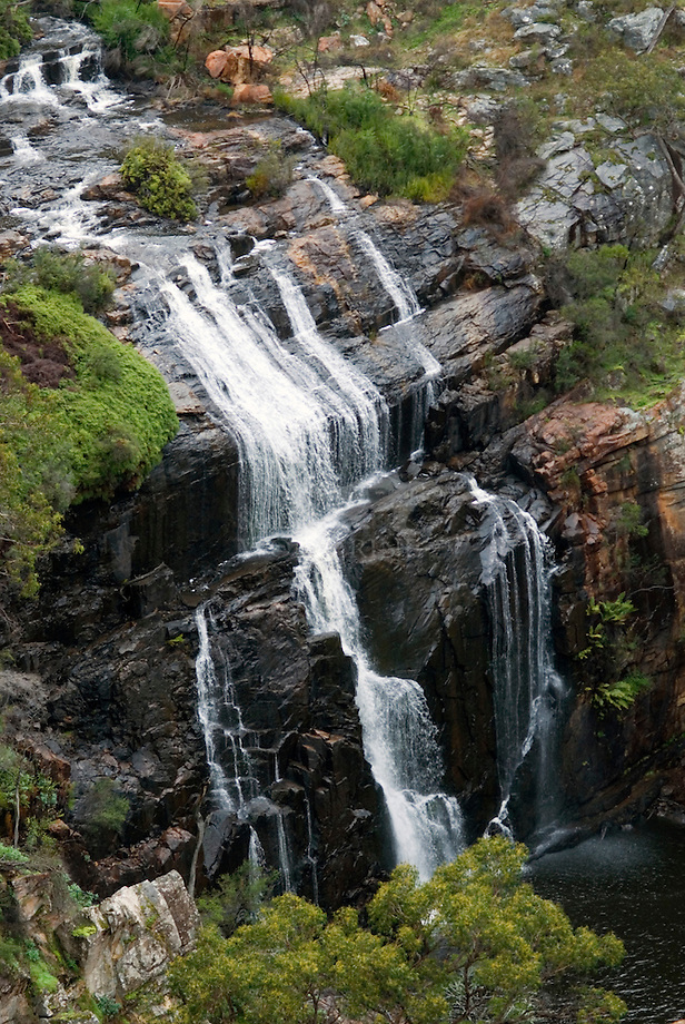 Waterval in Grampiums National Park, Victoria, Australia