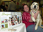 Kerrie Kelly from Klassie K9 pictured at the Enterprise day in Ardee parish centre. Photo:Colin Bell/pressphotos.ie