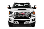 Car photography straight front view of a 2019 GMC Sierra-2500 Denali 4 Door Pick-up Front View