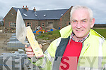 Kevin O'Donnell.outside one of his.developments in.Listowel.