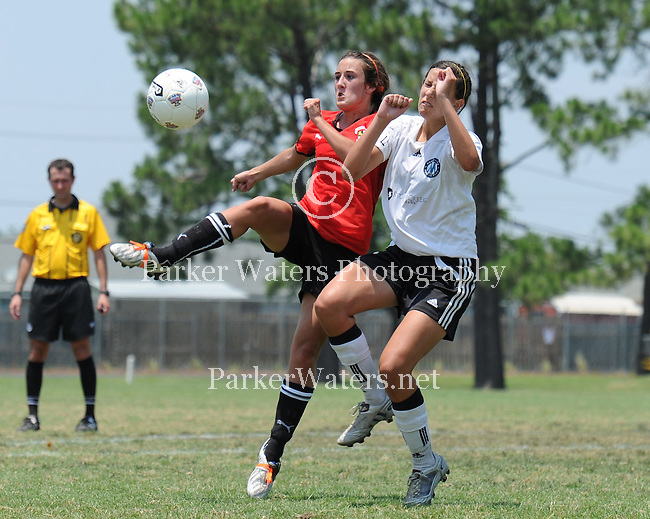 The U15 Louisiana championship game between the Mandeville Lakers and Chicago Fire Jrs. of LA played at Lafreniere Park. Mandeville went on to win the championship match by a score of 2-1.