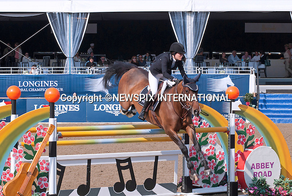 JESSICA SPRINGSTEIN (Bruce's Daughter)<br /> takes part in the Global Champions Tour, Olympic Park, London_06/06/2013<br /> Mandatory Credit Photo: &copy;Dias/NEWSPIX INTERNATIONAL<br /> <br /> **ALL FEES PAYABLE TO: &quot;NEWSPIX INTERNATIONAL&quot;**<br /> <br /> IMMEDIATE CONFIRMATION OF USAGE REQUIRED:<br /> Newspix International, 31 Chinnery Hill, Bishop's Stortford, ENGLAND CM23 3PS<br /> Tel:+441279 324672  ; Fax: +441279656877<br /> Mobile:  07775681153<br /> e-mail: info@newspixinternational.co.uk