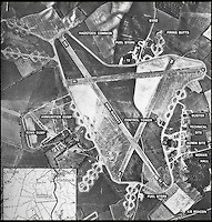 BNPS.co.uk (01202 558833)<br /> Pic: Wikipedia<br /> <br /> WW2 aerial shot of RAF Little Walden.<br /> <br /> Potential buyers are scrambling to view a unique RAF control tower that has appeared on the property radar near Saffron Walden in Essex.<br /> <br /> A Second World War tower has been transformed into a stylish family home and is now on the market for &pound;775,000.<br /> <br /> Little Walden airfield in Essex was opened in 1944 and the base was home to American Mustang fighters and B17 Flying Fortresses throughout the war.<br /> <br /> It is now a four-bedroom home with a wrap-around balcony and access to the rooftop to make the most of the panoramic views of the surrounding open countryside.<br /> <br /> Although in its secluded rural location the only flypast your likely to see nowadays is of the feathered variety.