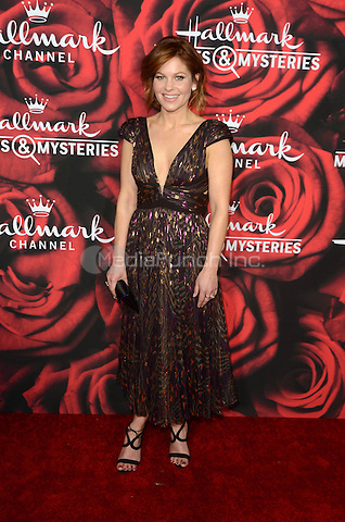 PASADENA. CA - JANUARY 14: Candace Cameron-Bure at the Hallmark Winter 2017 TCA Event at Tournament House in Pasadena, California on January 14, 2017. Credit: David Edwards/MediaPunch