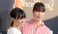 www.acepixs.com<br /> <br /> July 11 2017, LA<br /> <br /> Constance Zimmer (L) and Katie Aselton arriving at the premiere of Disney Channel's 'Descendants 2' on July 11, 2017 in Los Angeles, California. <br /> <br /> By Line: Peter West/ACE Pictures<br /> <br /> <br /> ACE Pictures Inc<br /> Tel: 6467670430<br /> Email: info@acepixs.com<br /> www.acepixs.com