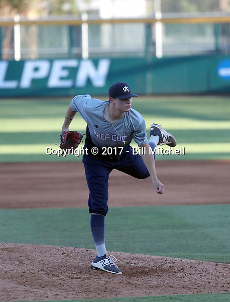 Easton McMurray plays in the 2017 Area Code Games on August 6-10, 2017 at Blair Field in Long Beach, California (Bill Mitchell)