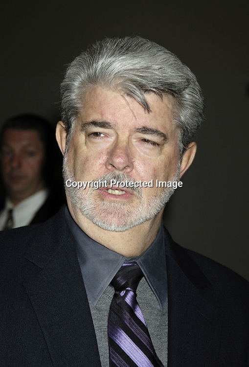 """George Lucas ..at The World Premier of Universal Pictures """" King Kong"""" ..on December 5, 2005 at The Loews E-Walk. ..Photo by Robin Platzer, Twin Images"""