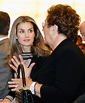 Princess Letizia of Spain attends the inauguration of 'Casa del Lector' on October 17, 2012 in Madrid, Spain..(ALTERPHOTOS/Acero)