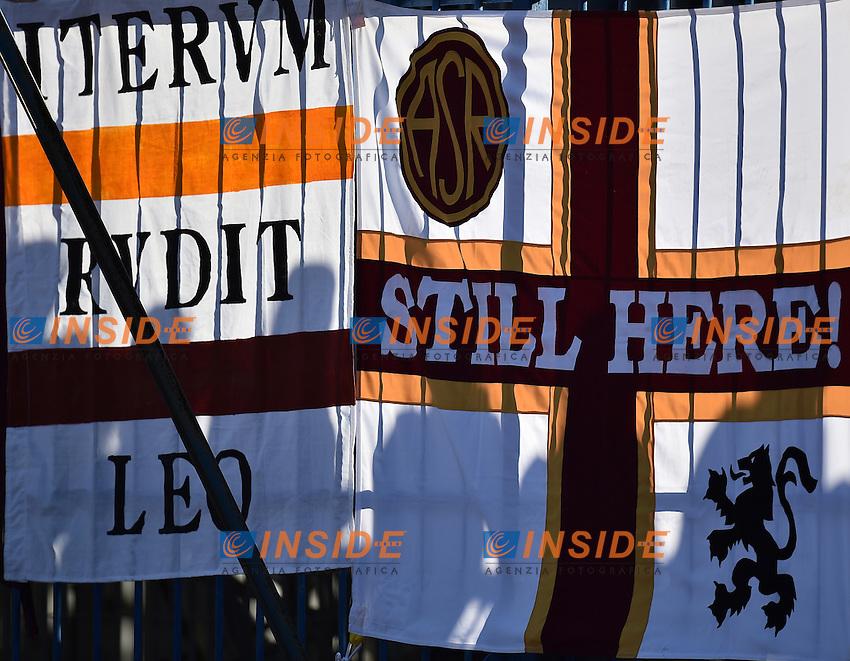 Banner supporters AS Roma <br /> Empoli 30-10-2016 Stadio Castellani <br /> Football Calcio Serie A 2016/2017 Empoli - AS Roma Foto Andrea Staccioli / Insidefoto