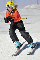 MT BULLER, AUSTRALIA, 28 August 2008 - Kathryn Parker competing at the Victorian Interschools Snowsports Championships held at Mt Buller, Victoria on 28 August 2008. Photo by Sydney Low / AsteriskImages.com