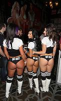Tamara, Kitty Kayja, Cristina Cass [Got Ass Girls] at AVN Expo, <br /> Hard Rock Hotel, <br /> Las Vegas, NV, Wednesday January 15, 2014.