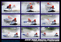 9 Frame sequence: 10-F crosses the wake of 1-J and comes close to going over. Available as a 13x19 MiniPoster and 16x24 prints only.  (Outboard Runabout)