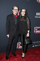LOS ANGELES - MAR 2:  Gary Oldman, Gisele Schmidt at the Film Is GREAT Reception Honoring British Oscar Nominees at the British Residence on March 2, 2018 in Los Angeles, CA