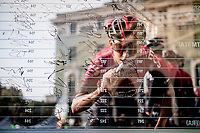 Egan Bernal (COL/Ineos) at sign-on<br /> <br /> 113th Il Lombardia 2019 (1.UWT)<br /> 1 day race from Bergamo to Como (ITA/243km)<br /> <br /> ©kramon