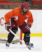Colin Blackwell (Harvard - 63) - The Harvard University Crimson practiced on Friday, October 22, 2013, at Bright-Landry Hockey Center in Cambridge, Massachusetts.