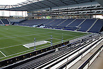 08 June 2011: A view of the West Stand from the Member's Stand. A tour of the interior of LIVESTRONG Sporting Park one day before Sporting Kansas City played the Chicago Fire in the inaugural game at LIVESTRONG Sporting Park in Kansas City, Kansas in a 2011 regular season Major League Soccer game.