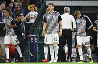 Thilo Kehrer (Deutschland Germany), Niklas Süle (Deutschland Germany), Nils Petersen (Deutschland Germany) - 06.09.2018: Deutschland vs. Frankreich, Allianz Arena München, UEFA Nations League, 1. Spieltag