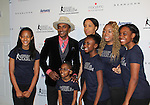 Marcus Samuelsson & Harlem Figure Skaters at The 11th Annual Skating with the Stars Gala - a benefit gala for Figure Skating in Harlem on April 11, 2016 on Park Avenue in New York City, New York with many Olympic Skaters and Celebrities. (Photo by Sue Coflin/Max Photos)