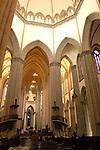 Catedral da Sé, localizada na praça da Sé, centro de São Paulo.