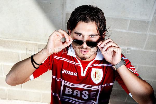 Swedish footballer Astrit Ajdarevi? (Belgium, 25/07/2012)