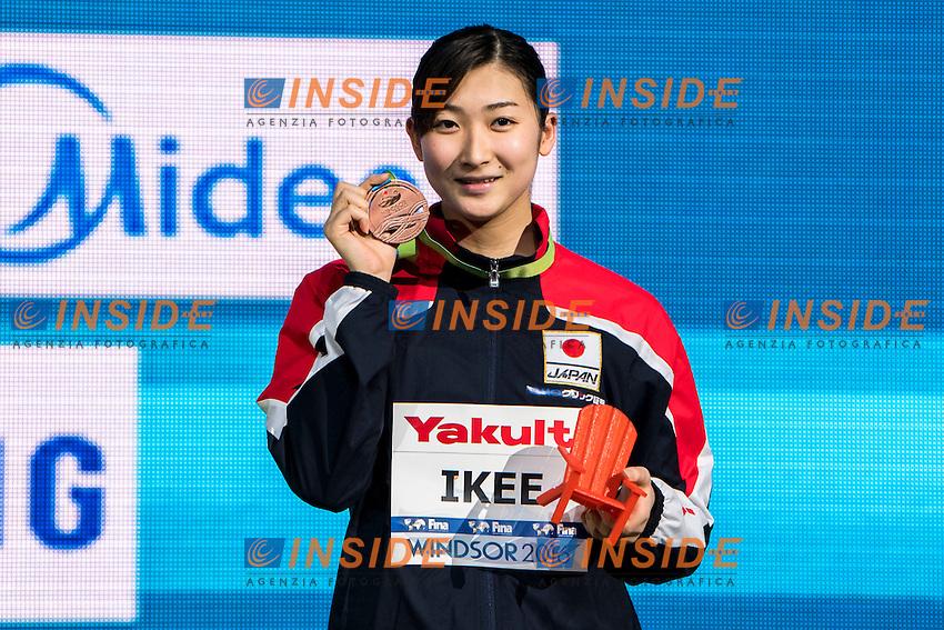IKEE Rikako JPN Bronze Medal<br /> Women's 100m Butterfly<br /> 13th Fina World Swimming Championships 25m <br /> Windsor  Dec. 11th, 2016 - Day06 Finals<br /> WFCU Centre - Windsor Ontario Canada CAN <br /> 20161211 WFCU Centre - Windsor Ontario Canada CAN <br /> Photo &copy; Giorgio Scala/Deepbluemedia/Insidefoto
