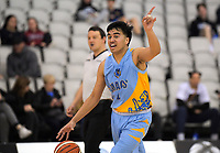 Action from the 2019 Schick AA Boys' National Secondary Schools Basketball Championships bronze playoff between Mount Albert Grammar School and Cashmere High School at the Central Energy Trust Arena in Palmerston North, New Zealand on Saturday, 5 October 2019. Photo: Dave Lintott / lintottphoto.co.nz