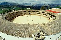 The Plaza de Toros (oldest bullfight arena in the world).