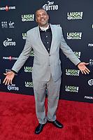 Gerald 'Slink' Johnson bei Kevin Hart's 'Laugh out Loud' Launch Event auf dem Goldstein Anwesen. Los Angeles, 03.08.2017