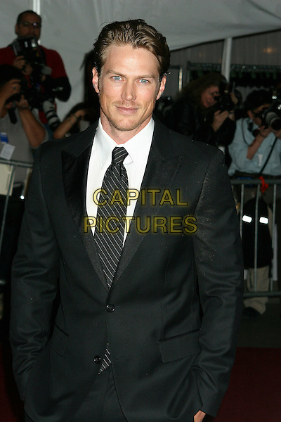 "JASON LEWIS.Arrivals at the Metropolitan Museum of Art Costume Institute Benefit Gala ""AngloMania: Tradition and Transgression in British Fashion"" at the Metropolitan Museum of Art, New York - NY, USA..May 1st, 2006.Ref: IW.half length black suit jacket.www.capitalpictures.com.sales@capitalpictures.com.©Capital Pictures"