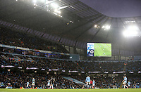 A general view of the action at the Etihad, home of Manchester City, as Burnley fall to a 5-0 demolition<br /> <br /> Photographer Rich Linley/CameraSport<br /> <br /> Emirates FA Cup Fourth Round - Manchester City v Burnley - Saturday 26th January 2019 - The Etihad - Manchester<br />  <br /> World Copyright © 2019 CameraSport. All rights reserved. 43 Linden Ave. Countesthorpe. Leicester. England. LE8 5PG - Tel: +44 (0) 116 277 4147 - admin@camerasport.com - www.camerasport.com