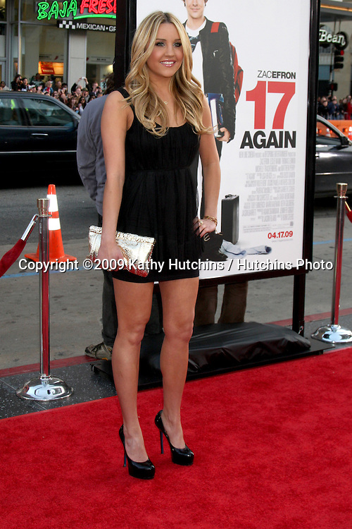 Amanda Bynes   arriving at the 17 Again Premiere at Grauman's Chinese Theater in Los Angeles, CA on April 14, 2009.©2009 Kathy Hutchins / Hutchins Photo....                .
