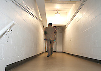 The last lonely walk to the loccker room during the final appearance of Jaime Moreno in a D.C. United uniform, at RFK Stadium, in Washington D.C. on October 23, 2010. Toronto won 3-2.