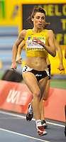 Photo: Paul Greenwood/Richard Lane Photography. Aviva World Trials & UK Championships. 14/02/2010. .Vicky Griffiths in the womens 800m.