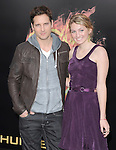 Peter Facinelli and daughter attends the Lionsgate World Premiere of The hunger Games held at The Nokia Theater Live in Los Angeles, California on March 12,2012                                                                               © 2012 DVS / Hollywood Press Agency