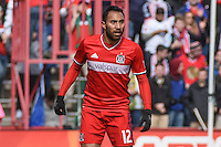 Bridgview, IL. - March 6, 2016: The Chicago Fire play the New York City FC at Toyota Park, in Bridgeview, IL. The New York City FC defeated the Chicago Fire by the score of 4-3.