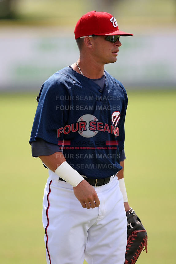 October 5, 2009:  Left Fielder Boomer Whiting of the Washington Nationals organization during an Instructional League game at Space Coast Stadium in Viera, FL.  Whiting was selected in the 28th round of the 2007 MLB Draft.  Photo by:  Mike Janes/Four Seam Images