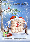 Roger, CHRISTMAS ANIMALS, WEIHNACHTEN TIERE, NAVIDAD ANIMALES, paintings+++++,GBRM2207,#xa#