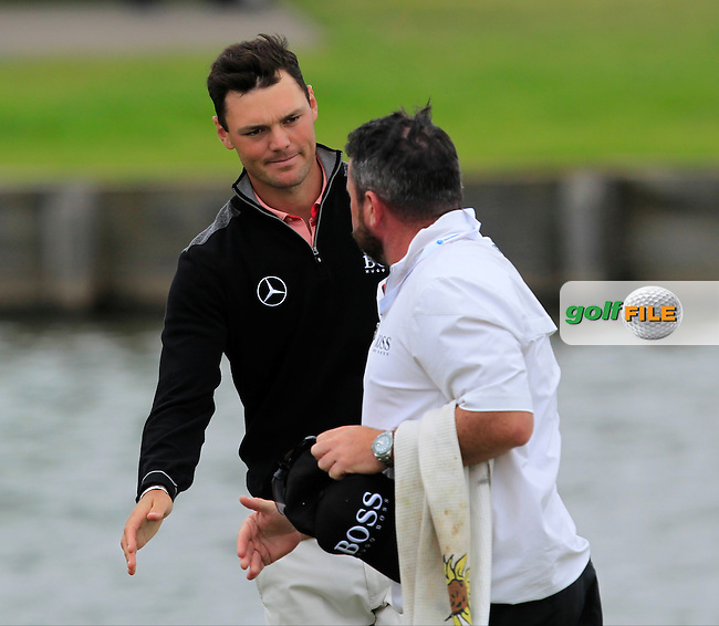Martin Kaymer (GER) on the 18th green during Round 4 of the 100th Open de France, played at Le Golf National, Guyancourt, Paris, France. 03/07/2016. <br /> Picture: Thos Caffrey | Golffile<br /> <br /> All photos usage must carry mandatory copyright credit   (&copy; Golffile | Thos Caffrey)