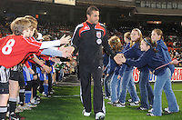DC United midfielder Fred (7) During the presentation of the team, Chicago Fire tied DC United 1-1 at  RFK Stadium, Saturday March 28, 2009.