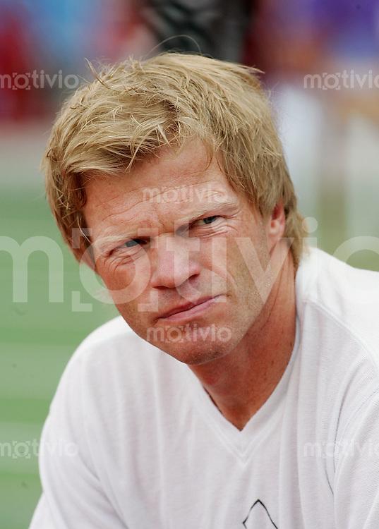 Fussball International FIFA Confederations Cup 2005 Halbfinale Deutschland - Brasilien GER Torwart Oliver Kahn , Portaet